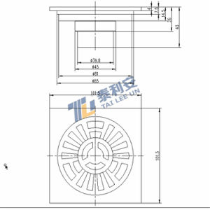 Sanitary Ware New Arrival Floor Drain for Bathroom (T1057) pictures & photos