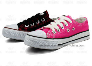 Low Top Classic Canvas Kids Sneaker (ET-MY170413K) pictures & photos
