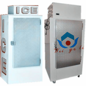 Cold Wall Outdoor Bagged Ice Storage Freezer with 300L (DC-300) pictures & photos