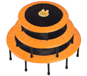 Colorful Round Mini Trampoline for 5~10 Years Kids pictures & photos