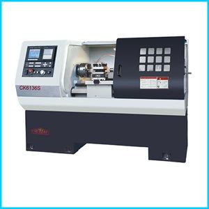 Siemens Big Spindle Bore Flat Bed CNC Lathe Machine for Sale pictures & photos