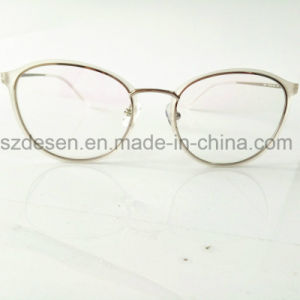 Latest Hot Selling Custom Big Frame Eyeglasses Metal Optical Frame pictures & photos