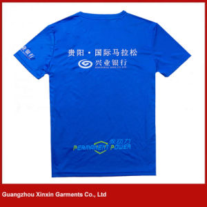 Customized Short Sleeve Sport T Shirts Manufacturer (R58) pictures & photos