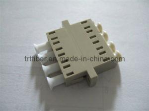 LC MM Quad Fiber Optic Flange (Fiber Adaptor) pictures & photos