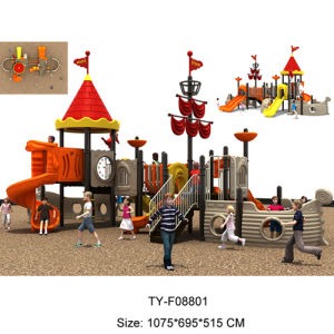 LLDPE Fashion Design Kids Plastic Outdoor Playground Equipment (TY-F08801) pictures & photos