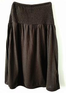 Women Fashion Apparel High Waist Above Knee A-Line Dress Skirt pictures & photos