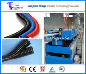 Qingdao Machinery, Plastic Machine for PE / PP / PVC / PA Corrugated Pipe pictures & photos