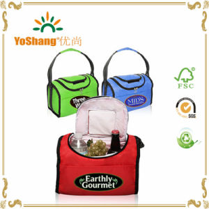 2016 New Style Promotional Outdoor Fitness Polyester Insulated Lunch Bag Cooler Bag pictures & photos
