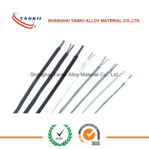 White and green color Thermocouple extension wire with teflon insulation (type K ) pictures & photos