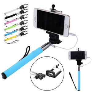 Cable Take Pole Charge-Free Cable Take Pole Mobile Cell Phone Accessories Selfie Stick for Apple&Android