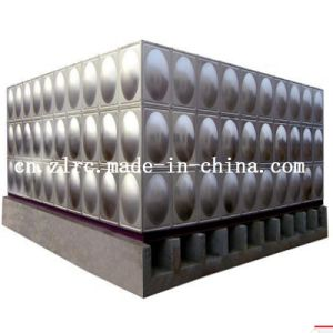 Mould Panel Water Tank 304 316 Stainless Steel Tank RO Water Tank Drinking Water Tank pictures & photos