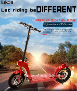 14inches Electric Scooter of 48V, 500W Brushless Motor, Long Lasting55km, Foldable Aluminum Alloy Electric Mobility Scooter with Certificates.
