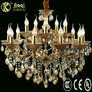 Modern Design Luxury Crystal Chandelier Lamp (AQ10401-10+5) pictures & photos