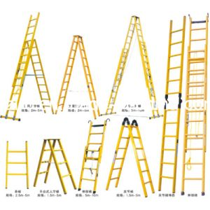Fiberglass Straight Ladder/Step Ladder/FRP Ladder Profile pictures & photos