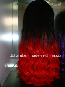 Human Hair Full Lace Wig pictures & photos
