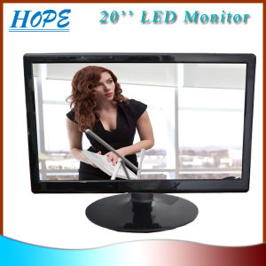 20 Inch Best LED Monitors with VGA+Spk+DVI pictures & photos