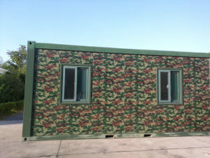 Sandwich Panel Steel Structure Container House/Sandwich Panel House 20FT Container House pictures & photos