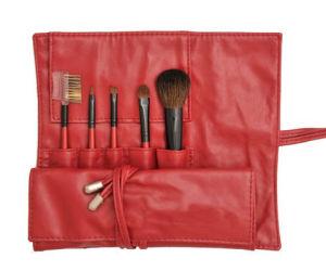 Natural Hair 5PCS Makeup Brush Cosmetic Brush pictures & photos