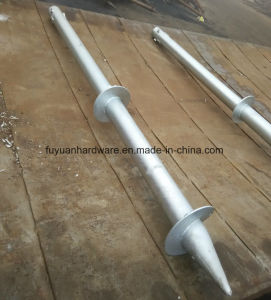 Solar Powder System Ground Screw with Flange pictures & photos