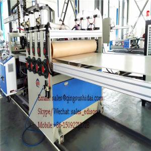 PVC Thin Crust Foam Board Machine PVC Celuka Adverting Board Machine pictures & photos