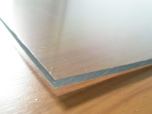 Bayer and Lexan Clear Plastic Polycarbonate Solid Sheet (Tonon88)