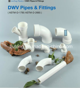 PVC Y-Tee ASTM D2665 Standard for Dwv Drain Water with NSF Certificate pictures & photos