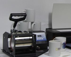 Heat Press Transfer Machine for Mugs Printing