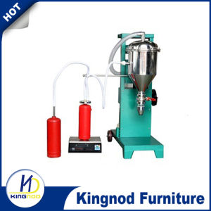 Filling Valve Machinery Stainless Steel Portable Filler Fire Extinguisher Powder Filling Machine pictures & photos