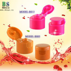 Shampoo Plastic Flip Top Cap pictures & photos