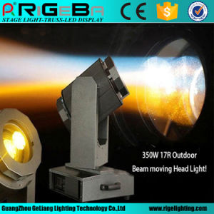 Professional Stage Lighting Beam 350W 17r Waterproof Beam Moving Head pictures & photos