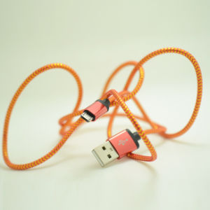 Colorful Weave Ligthning USB Data Charger Cable for iPhone6, iPad pictures & photos