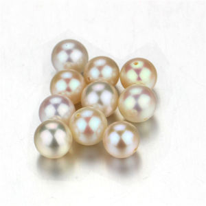 Snh 7.5-8mm White Real Freshwater Loose Pearls Wholesale pictures & photos