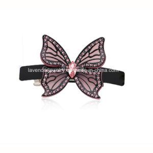Hair Ornaments Acrylic Buttefly Hair Clip for Women Beauty Accessory