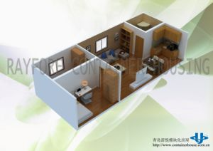20ft or 40FT Movable Prefabricated Container House pictures & photos