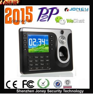Joney P2p Fingerprint Punch Card Time Attendance (free software) pictures & photos
