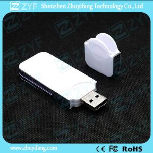 White Slim Plastic 2GB USB Stick for Gift (ZYF1251)
