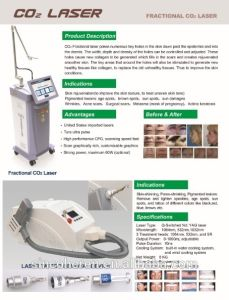 Medical CO2 Fractional Lasers Beijing Sincoheren Support Best Quality Price Good pictures & photos