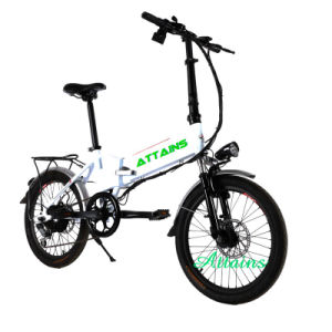 Lithium Battery One Second Folding Electric Bike Foldable Electric Bike pictures & photos