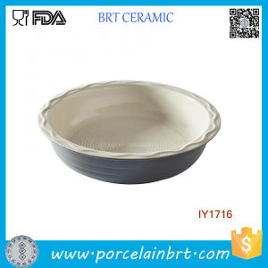 Hot Sale Kitchenware Ceramic Pie Comal Cookware pictures & photos