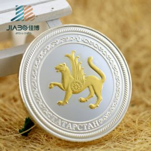 Customized Two Tone Finished Metal Souvenir Challenge Coin for Promotional Gift pictures & photos