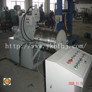Steel Drum Production Line/Ssteel Barrel Semi-Automatic 200-220 Liter W Corrugation Forming Machine pictures & photos