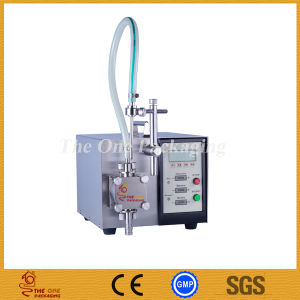 Semi-Automatic Double Head Digital Control Pump Liquid Filler, Filling Machine for Perfume, Oil, Juice, Water pictures & photos