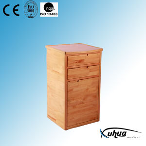 High Quality Solid Wood Hospital Bedside Cabinet (K-12) pictures & photos