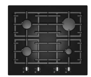 2015 Wholesale Household Appliances Tempered Glass Gas Hobs