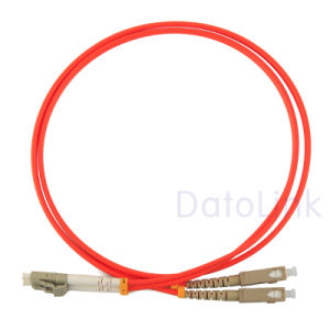 LC/Upc-Sc/Upc Mm, Duplex Patch Cord pictures & photos