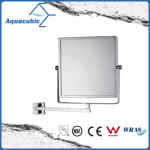 Wall-Mounted Brass Square Bathroom Mirror (AA6022) pictures & photos