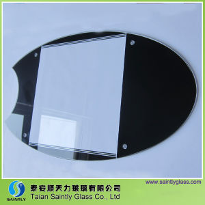 3.2mm Tempered Ultra Clear Glass with 8 Holes pictures & photos