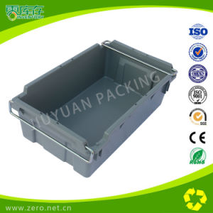 Big Size PP Plastic Crates with Iron Lug pictures & photos