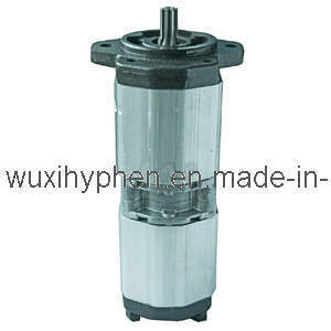 Aluminum Hydraulic Gear Pump Double Pump 23cc+23cc pictures & photos