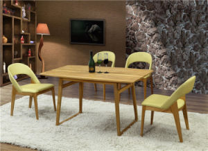 Luxury Hotel Dining Set Solid Wood Furniture (FOH-BCA58) pictures & photos